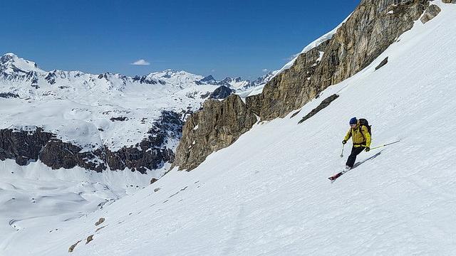 hors piste rando à Val D'Isère