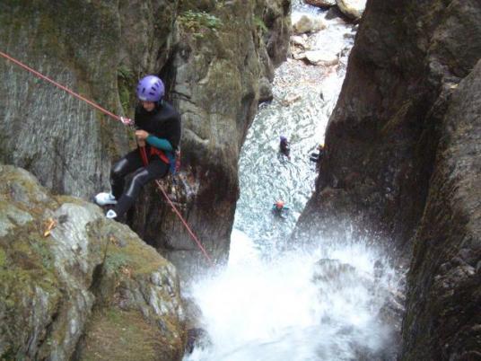 canyoneering - Savoie - Pussy