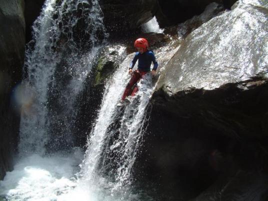 Canyoneering Eau Rousse - Savoie - Vanoise