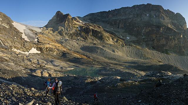 Randonnée en montagne avec les Accompagnateurs de Arcs Peisey Vallandry