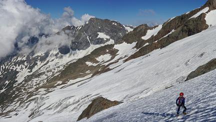 Randonnée glaciaire : Autour du refuge Robert Blanc