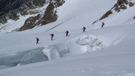 Dôme des Glacier depuis Bour St Maurice - massif du Mont Blanc