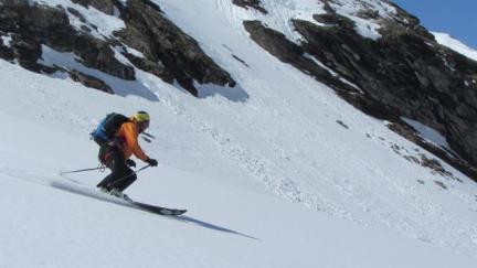 ski hors piste Val d'Isère  - guides des Arcs