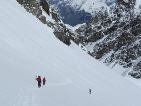 Si de randonnée en Vanoise - le Glacier du Grand Col