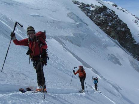 Ski de randonnée en Vanoise - le Glacier du Grand Col
