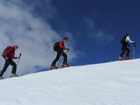Ski de rando dans le Beaufortain - L'Homme Cairn 2699m