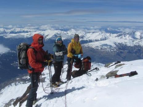 Ski de randonnée en Vanoise - Sommet du Mont Pourri