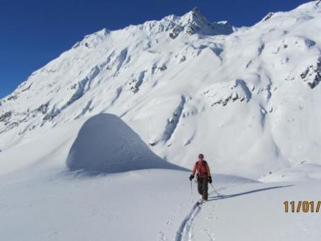 ski de rando refuge du Ruitor