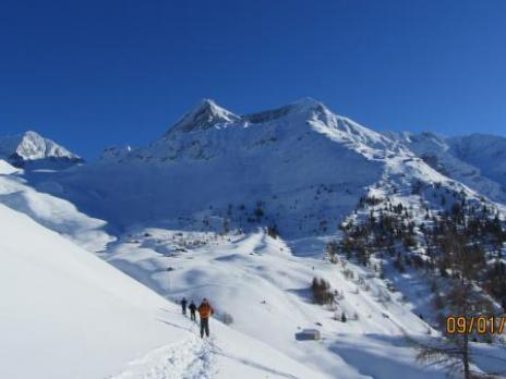 Le Mont Pourri, le Dôme de la Sache, Bellecôte