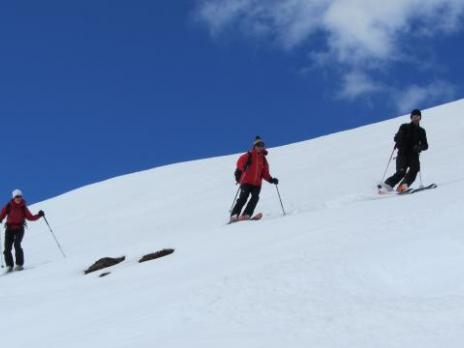 Ski de randonnée avec les guides de Bourg Saint Maurice les Arcs