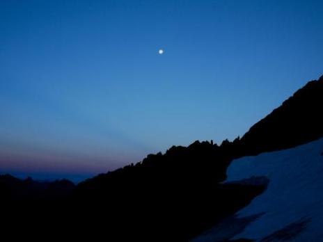 le jour se lève sur la Vanoise