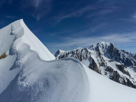 Le sommet, très esthétique...