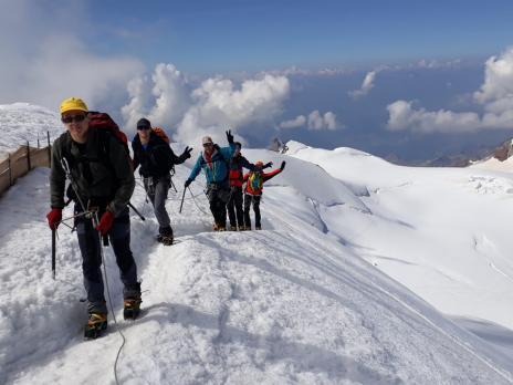 Arrivée '4550 m