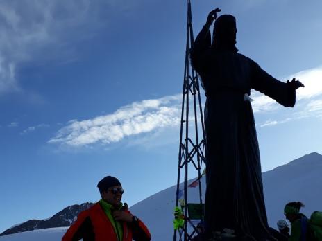 Le Balmehorn et le Cristo delle vette