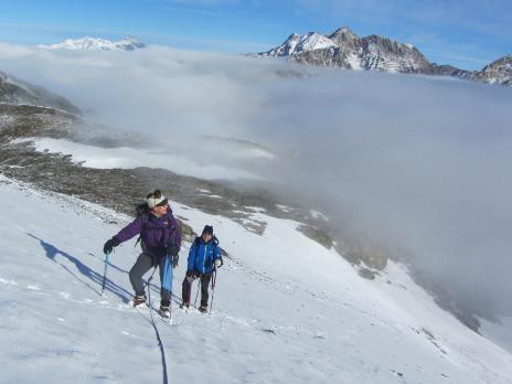 Alpinisme en Vanoise, la Grande Aiguille Rousse
