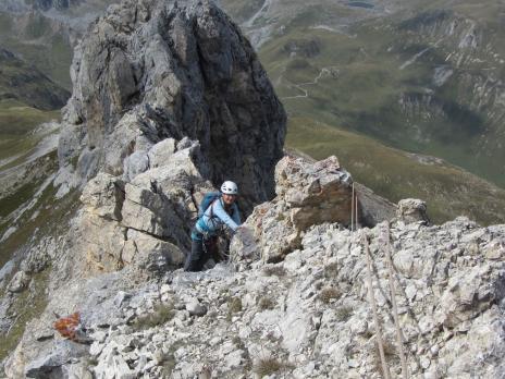 Alpinisme en Vanoise traversée des Rochers de Plassa