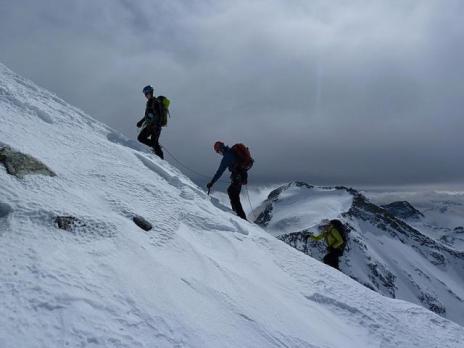 Près du sommet de l'Ouille d'Arbéron.