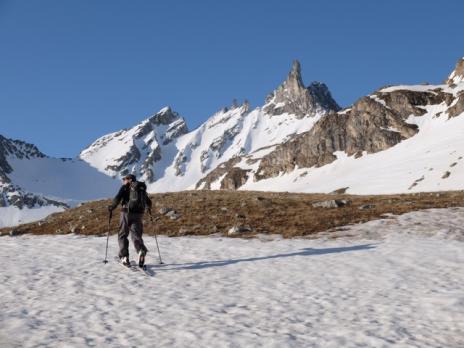 Randonnée à ski en Vanoise, La Balleittaz