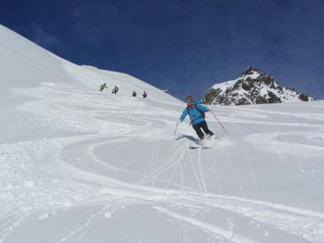 Ski de randonnée Le Clapet - Vanoise
