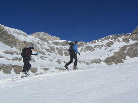 Hors piste rando au départ de Val d'Isère