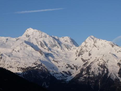 Vu sur la Mt Pourri