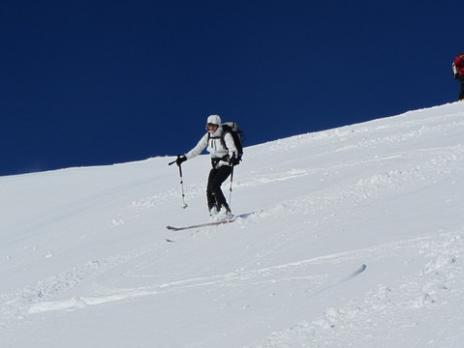 ski de randonnée dans le Beaufortain Combe Bénite