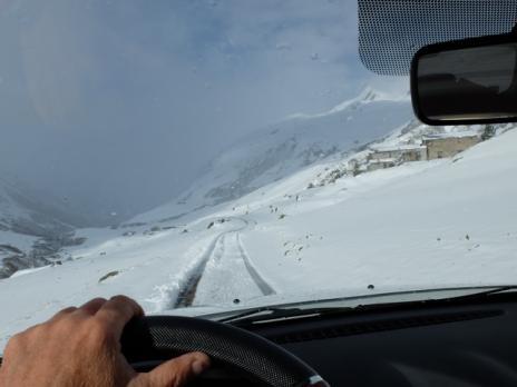 Belle chute de neige à 1800 m