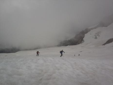 Sur le Glacier des Glaciers