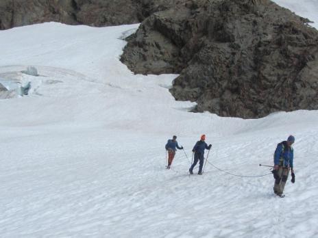Dôme des Glacier par le glacier des Glaciers - Guides des Arcs