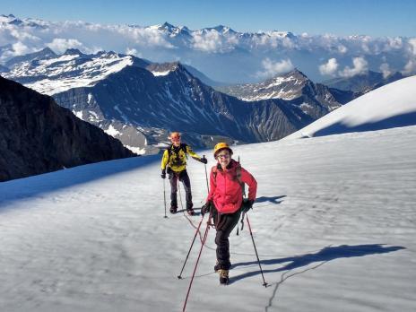 Dôme des Glaciers par le glacier des Glaciers - Guides des Arcs