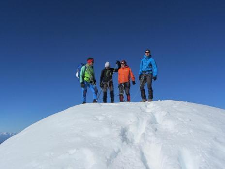 Alpinisme - Les Dômes de Miage