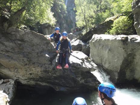 Canyonning en Savoie