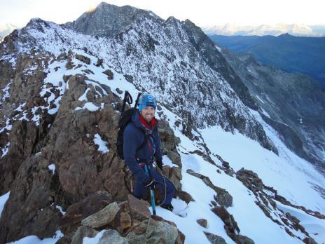 Alpinisme au Dome des Glaciers