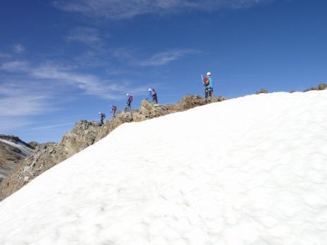 Alpinisme en Vanoise. La Becca du lac