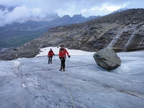 Le glacier des sources de l'Isère