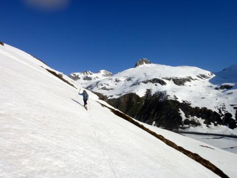Au dessus de l'Oberalp Pass