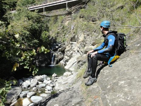 canyonning le Chalamy