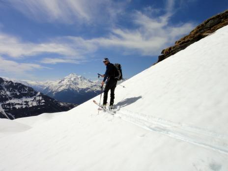 Vue sur le Mt Pourri