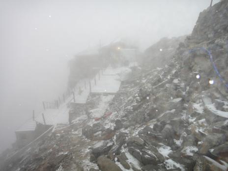 Alpinisme au Mont Rose