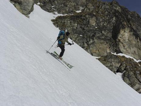 Dans la descente sur la Maurienne.