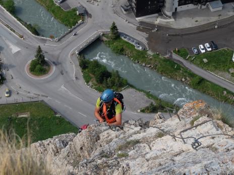La Via ferrata de Val d'Isère