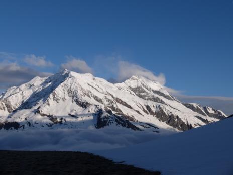 Le Mt Pourri et le döme de la Sache