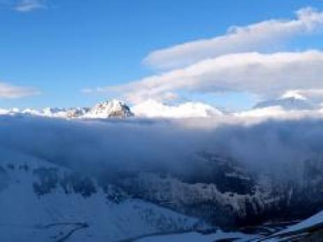 Panoramique sur la Vanoise