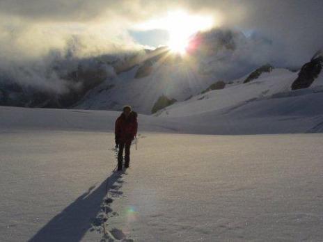 Alpinisme le beau temps arrive