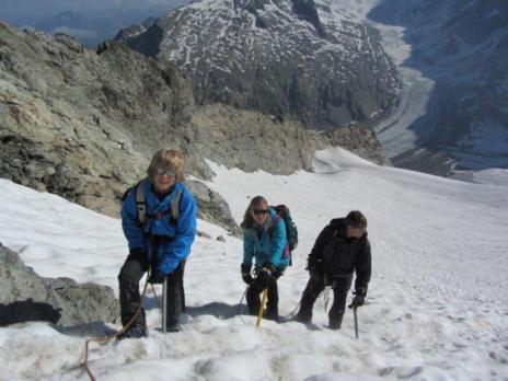 Sommet du glacier du Tondu - Guides des Arcs