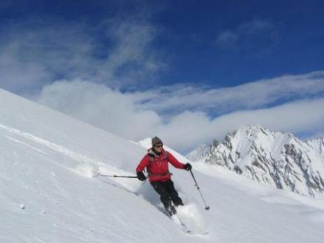 Ski de randonnée dans le Beaufortain le Mont Rosset - Guides des Arcs