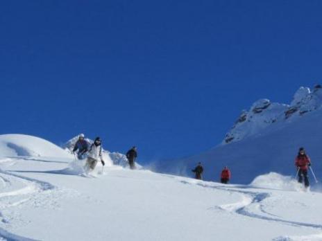 Ski hors-piste à Peisey avec les guides des Arcs