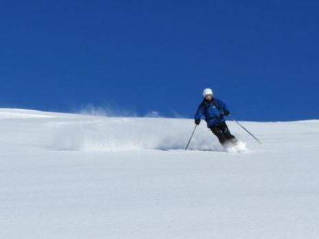 Ski hors piste aux Arcs avec les Guides des Arcs