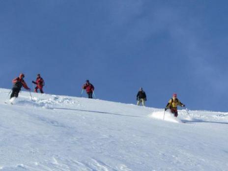 Hors piste aux Arcs - Guides des Arcs