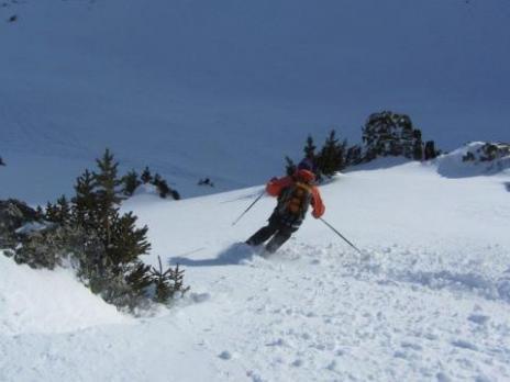 ski hors pistes aux départ des Arcs la Plagne - Vanoise
